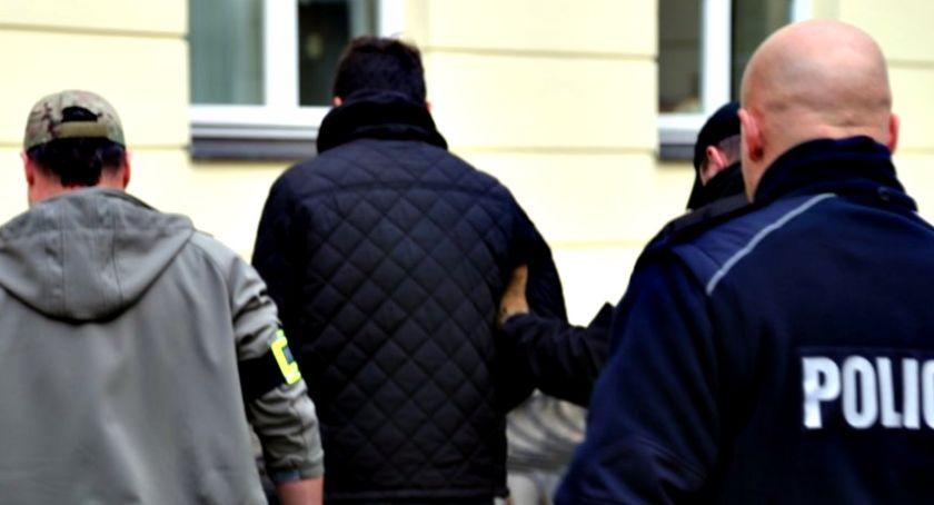 śledcze, Groził bombą letni płońszczanin zatrzymany - zdjęcie, fotografia