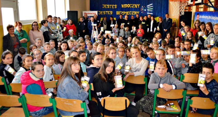 imprezy szkolne, Akcja bezpieczeństwo Królewie - zdjęcie, fotografia