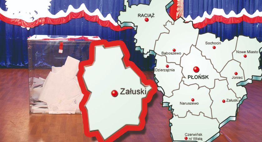 polityka, gminie Załuski wybory zdecydowanie wygrywa poparciem - zdjęcie, fotografia