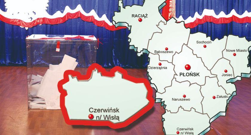 polityka, gminie Czerwińsk wybory zdecydowanie wygrywa poparciem - zdjęcie, fotografia