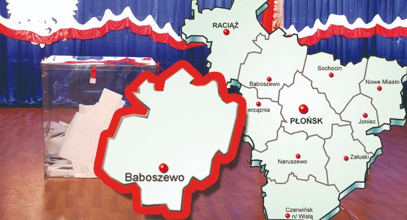 polityka, gminie Baboszewo wybory zdecydowanie wygrywa poparciem - zdjęcie, fotografia