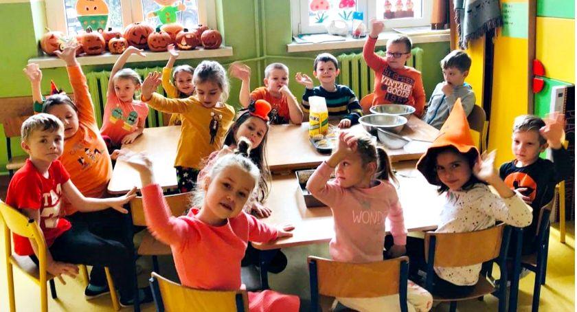 imprezy szkolne, Królowa jesiennych warzyw Kroczewie - zdjęcie, fotografia