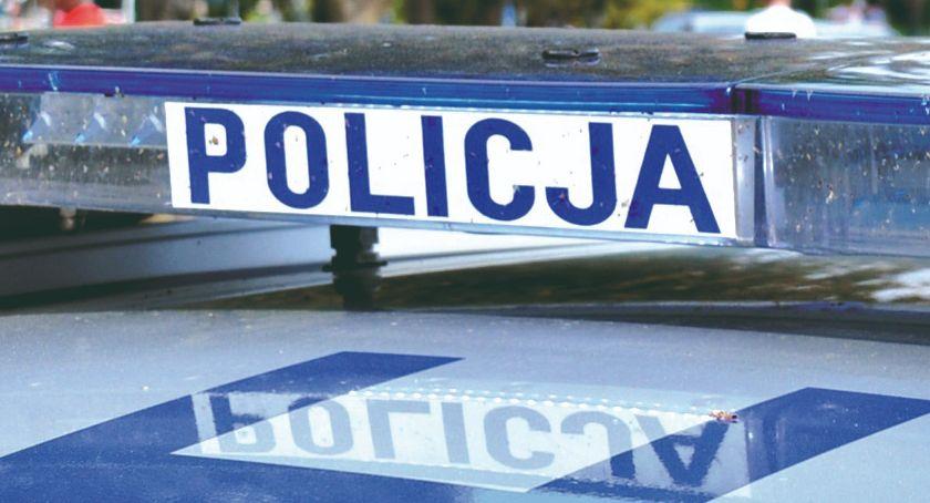 policja na drodze, Kolejny pijany kółkiem - zdjęcie, fotografia
