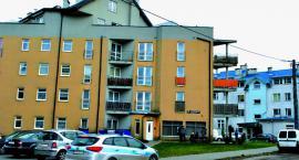 Tragedia na Łąkowej - skoczył z czwartego piętra