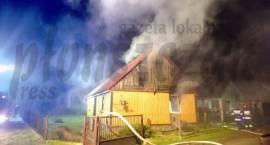 Pożar strawił dom i dobytek