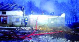 Płonęła obora w Kozolinie