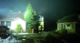 Dwa pożary domów