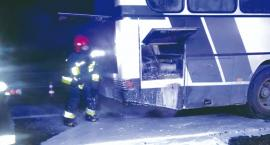 Zapalił się autobus