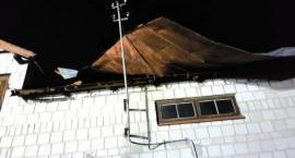 Powiało i uszkodziło dachy