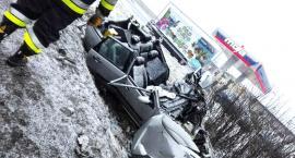 Poważny wypadek w Szpondowie