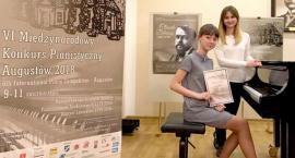 Maja Witulska laureatką konkursu pianistycznego