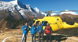 Płońszczanie śmigłowcem pod szczyt Mount Everest