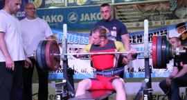 Policyjny siłacz z rekordem życiowym -  wycisnął 190 kg