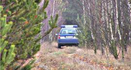 Policyjny pościg - pijany uciekł do lasu