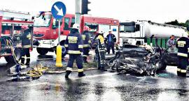 Koszmarny wypadek w Przyborowicach