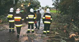 Strażackie podsumowanie skutków wichury