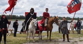Król Jagiełło w Czerwińsku - w drodze pod Grunwald