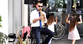 Podwieczorek przy saksofonie