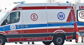 Rowerzysta zmarł w szpitalu