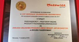 Boczek ze Skołatowa i ser z Raciąża nagrodzone