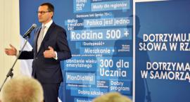 Premier Morawiecki w Płońsku