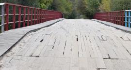 Remont mostu w Sobieskach