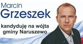 Marcin Grzeszek kandydatem PiS na wójta w Naruszewie