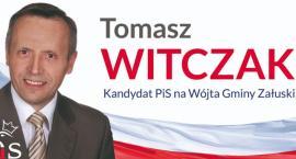 Tomasz Witczak kandydatem PiS na wójta gminy Załuski