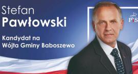 Stefan Pawłowski kandydatem PiS na wójta gminy Baboszewo