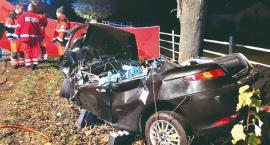 Kolejny koszmarny wypadek - zginęły dwie osoby