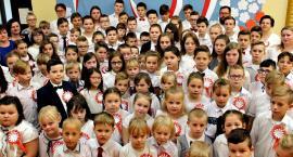 Świętowanie niepodległości - SP Zaborowo