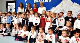 Świętowanie niepodległości - przedszkole Kangurek Płońsk