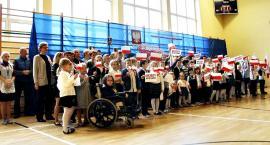 Świętowanie niepodległości - SP Polesie