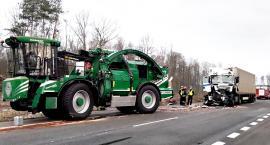 Ciężarówka z rębakiem