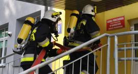 Ewakuacja maluch, czyli strażacka akcja w Naruszewie