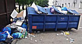 Góra śmieci na weekendy