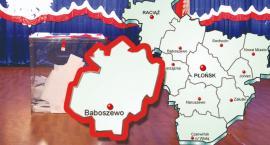 W gminie Baboszewo PiS - 67,99 %; KE - 21,01 %