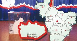 W gminie Czerwińsk PiS - 70,90 %; KE - 17,05 %