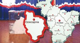 W gminie Dzierzążnia PiS - 72,12 %; KE - 18,98 %