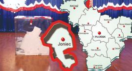 W gminie Joniec PiS - 58,37 %; KE - 26,98 %