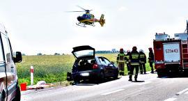 Bardzo poważny wypadek w Kozarzewie - zakończyło się tragicznie