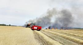 Strażackie dni w pigułce - przede wszystkim bardzo groźnie na polach