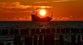 POCZTÓWKA Z WAKACJI - trzy (Stegna, Ustka, Władysławowo) barwy morza pana Damiana