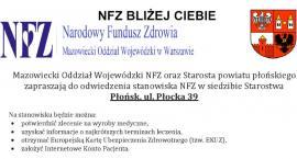 Przez cztery wrześniowe piątki mobilne stanowisko NFZ w starostwie