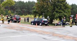 Groźnie na skrzyżowaniu w Bolęcinie