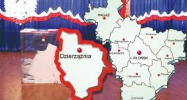 W gminie Dzierzążnia wybory zdecydowanie wygrywa PiS z poparciem 67,65 proc.