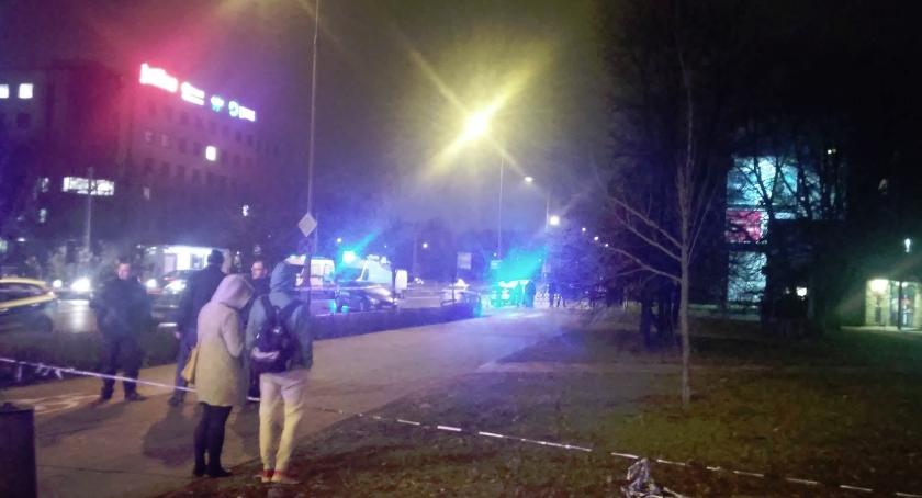 wydarzenia, Napad bronią żoliborską pocztę - zdjęcie, fotografia