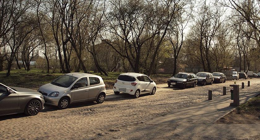 ulice, Parkowanie Barszczewskiej - zdjęcie, fotografia
