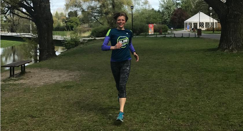 bieganie, Gdzie biegać Żoliborzu Bielanach - zdjęcie, fotografia