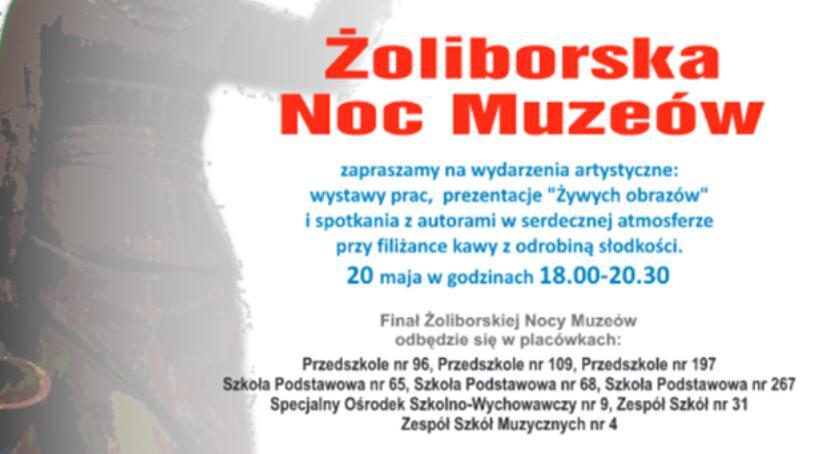 zapowiedzi, Żoliborska Muzeów - zdjęcie, fotografia